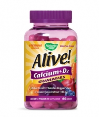 NATURES WAY Calcium + Vitamin D3 250mg. / 60 Gummies