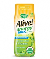 NATURES WAY Alive Energy MAX + Herbal Caffeine / 64ml.