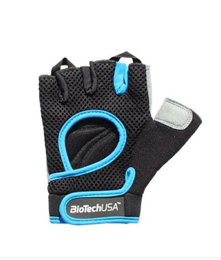 biotech-usa Budapest Gloves / Black-Blue