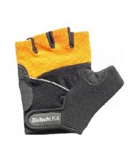 BIOTECH USA Athens Gloves / Black-Orange