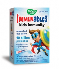 NATURES WAY Immunables 10 billion Probiotics / 30 Packs.