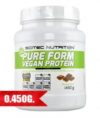 SCITEC Green Series Pure Form Vegan Protein / 450 gr.