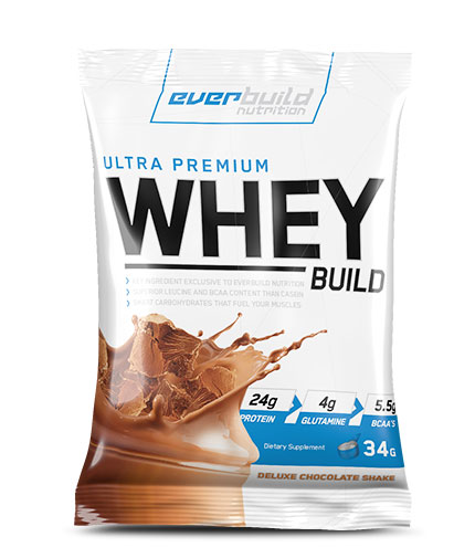 EVERBUILD Ultra Premium Whey Build Sachet