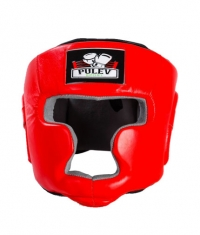 PULEV SPORT Headguard Cheek Protect / Red