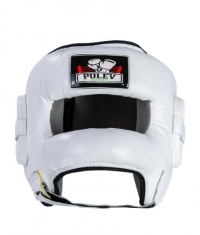 PULEV SPORT Headguard Face Bar / White