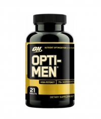 OPTIMUM NUTRITION Opti-Men - 21 Tabs.