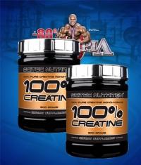 PROMO STACK Scitec 100% Creatine 500g / x2