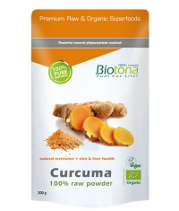 BIOTONA Curcuma 100% Raw Powder