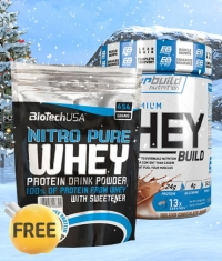 PROMO STACK Winter Sales Protein 1+1 FREE