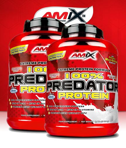 PROMO STACK Amix 100% Predator Protein 5 Lbs. / x2