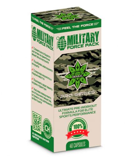 cvetita-herbal Military Force Pack / 40 Caps.