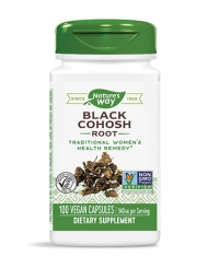 NATURES WAY Black Cohosh 540mg. / 100 Vcaps.