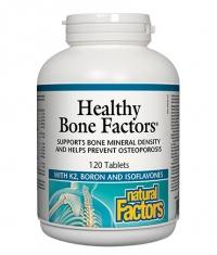 NATURAL FACTORS Healthy Bone Factors / 120 Tabs.