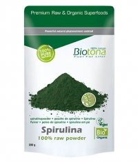 BIOTONA Spirulina 100% Raw Powder