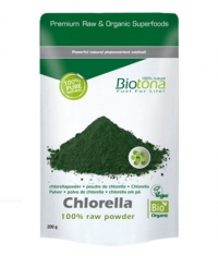 BIOTONA Chlorella 100% Raw Powder