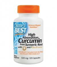 DOCTOR\'S BEST High Absorption Curcumin 500mg. / 120 Caps.