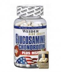WEIDER Glucosamine & Chondroitin + MSM 120 Caps.