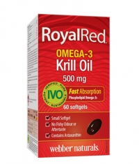 WEBBER NATURALS Royal Red Omega-3 Krill Oil 500mg. / 60 Soft.