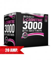 BIOTECH USA L-Carnitine 3000 / 20 Amp.