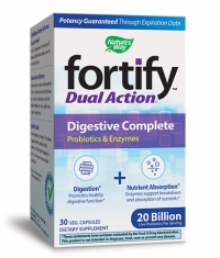 NATURES WAY Fortify Dual Action Digestive Complete / 30 Vcaps.