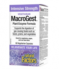 NATURAL FACTORS Vegetarian MacroGest / 120 Vcaps.