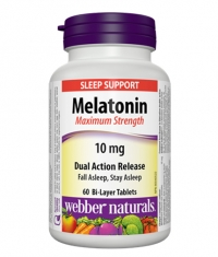 WEBBER NATURALS Melatonin Maximum Strength 10mg / 60Tabs.