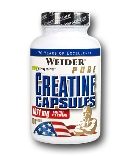 weider Pure Creatine 100 Caps.