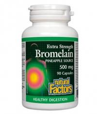 NATURAL FACTORS Bromelain 500mg. / 90 Caps.