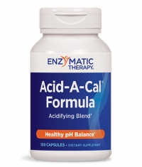 ENZYMATIC THERAPY Acid-A-Cal / 100 Caps.