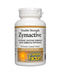 NATURAL FACTORS Zymactive Double Strength / 90Tabs.