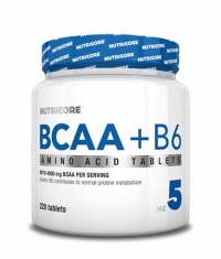 NUTRICORE BCAA + B6 / 220 Tabs.