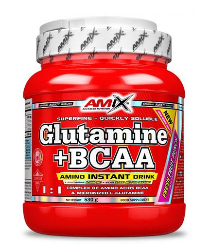 AMIX Glutamine + BCAA / Flavoured