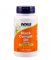 NOW Black Currant Oil 500 mg / 100 Softgels
