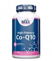 HAYA LABS High Potency Co-Q10 100mg. / 60 Vcaps.