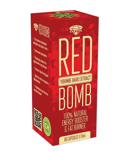 cvetita-herbal Red X Bomb / 80 Caps.
