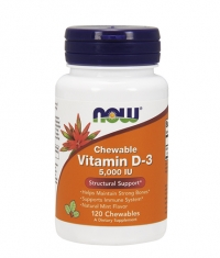 NOW Vitamin D-3 5000 IU / 120 Chewables
