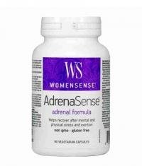 NATURAL FACTORS WomenSense AdrenaSense 460mg. / 90 Vcaps.