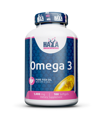 haya-labs Omega 3 1000mg. / 100 Softgels