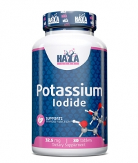 HAYA LABS Potassium Iodide 32.5mg. 30 Tabs.