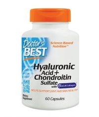 DOCTOR\'S BEST Hyaluronic Acid + Chondroitin Sulfate / 60 Caps.