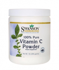 SWANSON Vitamin C Powder - 100% Pure 1000mg.