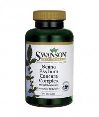 SWANSON Senna Psyllium Cascara Complex / 90 Caps