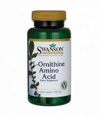 SWANSON L-Ornithine Amino Acid 500mg. / 60 Vcaps