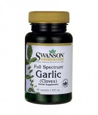 SWANSON Full Spectrum Garlic 400mg. / 60 Caps