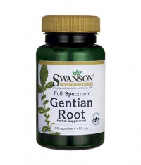 SWANSON Full Spectrum Gentian Root 400mg. / 60 caps