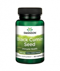 SWANSON Black Cumin Seed 400mg. / 60 Caps