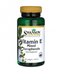 SWANSON Vitamin E Mixed Tocopherols 200IU / 250 Soft