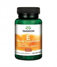 SWANSON Vitamin E Mixed Tocopherols 400 IU / 100 Soft.