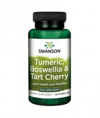 SWANSON Turmeric, Boswellia & Tart Cherry / 60 Caps