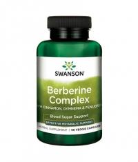 SWANSON Berberine Complex with Cinnamon, Gymnema & Fenugreek / 90 Vcaps